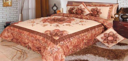 queen size blanket with silk edge - 8