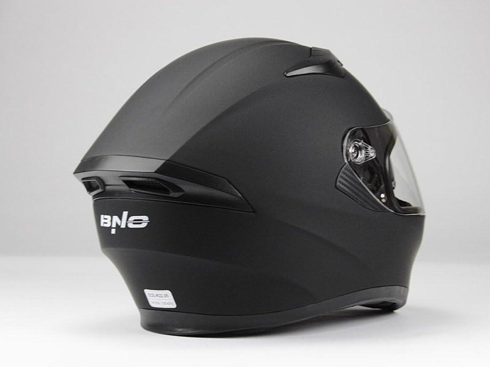 XXL 57//58 , Matt Schwarz + Ersatzvisier Rainbow M BNO Integralhelm Helm F600 Matt Schwarz Gr/ö/ße S