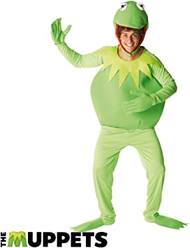 7-8 ans Rubie/'s Official Disney Muppets Deluxe Kermit Costume-Large