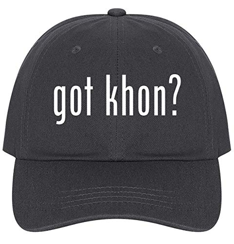 (The Town Butler got Khon? - A Nice Comfortable Adjustable Dad Hat Cap, Dark Grey)