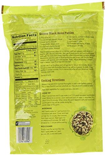 a45a6fdd2d Amazon.com   Trader Joe s Organic Tricolor Quinoa - 16 oz. - Gluten Free  Vegetarian Vegan   Dried Quinoa   Grocery   Gourmet Food