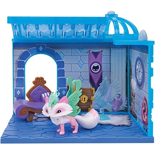 Animal Jam Crystal Palace Den Exclusive Playset [Limited Edition Arctic Fox] (Animal Jam Wolf Plush)