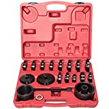 Yoursme Front Wheel Drive Bearing Adapters Installation Removal Puller Pulley Replacement Installer Tool Kit 23PCS with Case