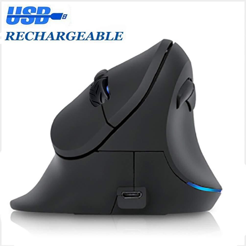 人間工学マウス ワイヤレス バーティカルマウス [3C 2.4GHz 光学式 ワイヤレス Wireless 充電式マウス [3C ライト] 6ボタン ゲーミングマウス 調節可能 DPI 1600 6ボタン ワイヤレスマウス 大きな手用 CM0156 Wireless B07KM1M32S, いわきチョコレート:0aea59b4 --- lindauprogress.se
