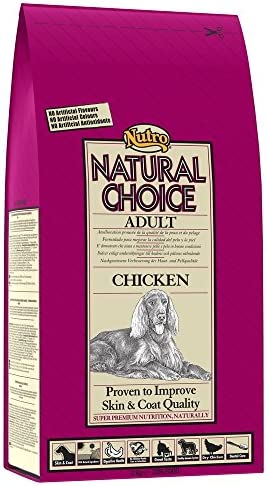 NUTRO - Pienso para Perros medianos Natural Choice Adult Pollo 12 + 3 kg: Amazon.es: Productos para mascotas