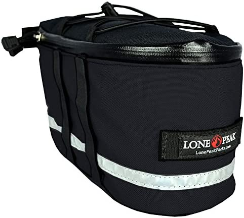 Lone Peak Micro Bicycle Rack Pack Bag