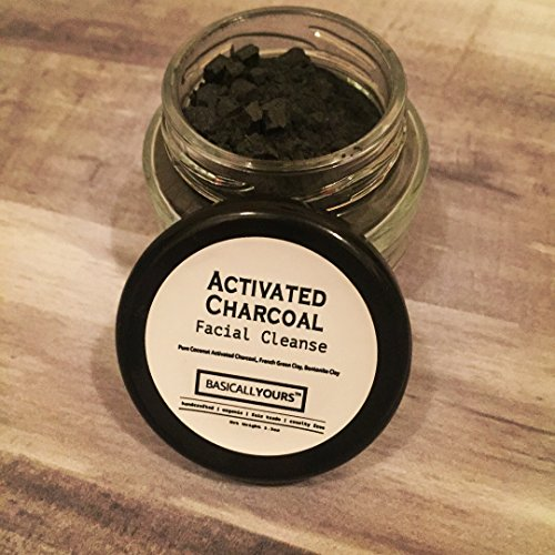 Activated Charcoal Clay/Detox Clay Mask/Deep Clean/Refresh Skin/Purifying by BasicallYours