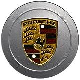 Porsche 986 996 Alloy Wheel Hub Cap (1) GENUINE w/ painted crest