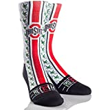 Rock 'Em Apparel The Ohio State University Buckeyes Custom Athletic Crew Socks