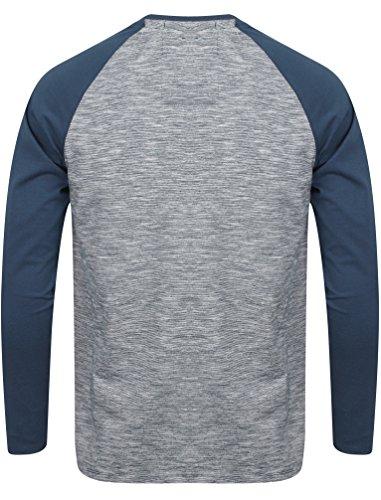 By Lunga Laundry ' Maglietta Camicia Dawsons Tokyo Uomo Manica Blu Medievale Ridge ZagIzqz