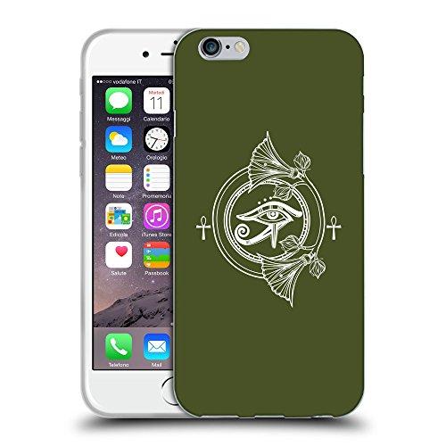 GoGoMobile Coque de Protection TPU Silicone Case pour // Q09840605 Religion 24 armée verte // Apple iPhone 7