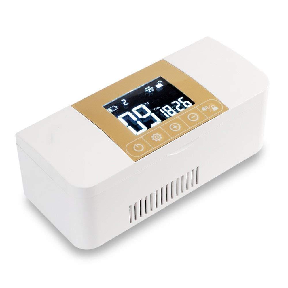 Kühltaschen & -boxen Portable Medikamentenkühlung Und Insulinkühlbox Für Autoinsulinbox & Medikamentenkühltasche Und Intelligenten Kühlschrank Und Insulinkühler (7,28X3,15X2,56Inch)