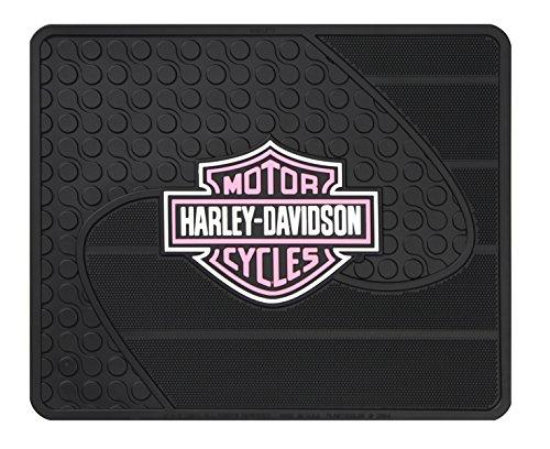 pink harley davidson floor mats - 3