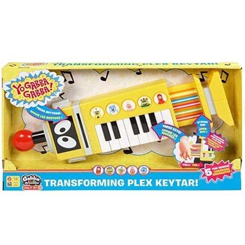 (Yo Gabba Gabba! Electronic Transforming Plex Keytar!)