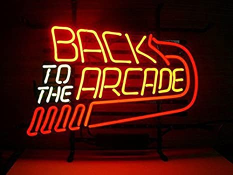 Amazon.com: Back To The Arcade Neon Sign 17