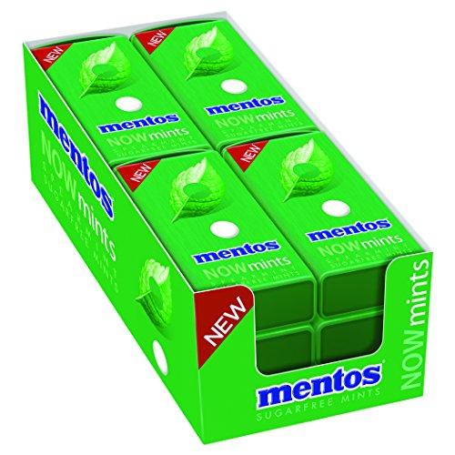 Mentos Now Mints, Spearmint, 12 Count