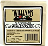Williams Food Co. Old Fashioned Sausage Seasoning, 1 Lb