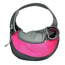 Protable Hot Pet Dog Cat Puppy Carrier Travel Messenger Shouder Canvas Sling Bag