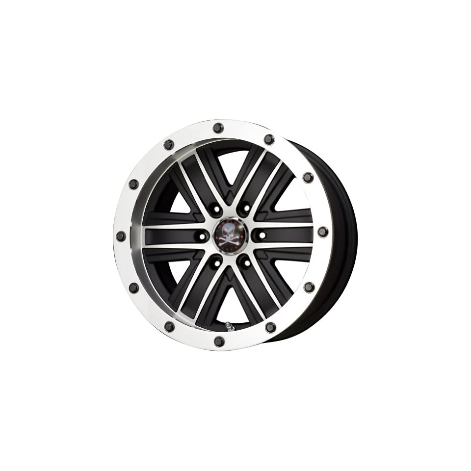 American Outlaw Curse Black Machined Face Wheel with Machined Finish (17x9/6x139.7mm)