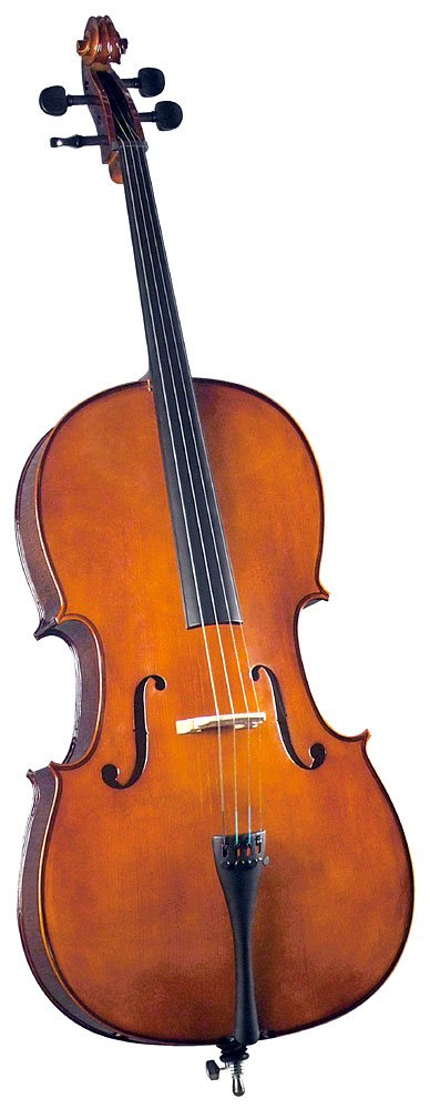 Cremona SC-130 Premier Novice Cello Outfit - 3/4 Size Saga Musical Instruments SC-130 3/4