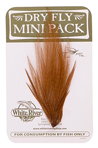 - Ewing Hackle Dry Fly Mini Pack (Coachmen Brown, 12-14)
