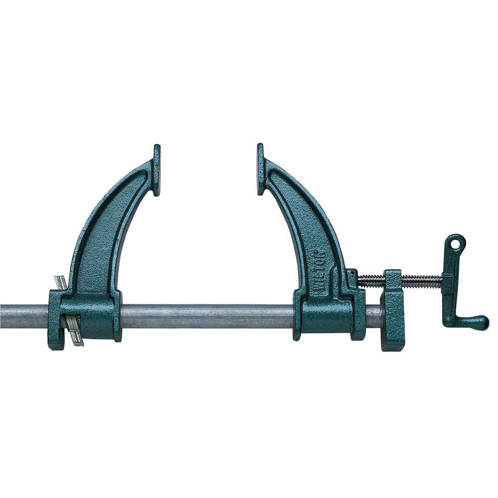 Wilton 14870 Deep-Throat Steel Pipe Clamp Fixture