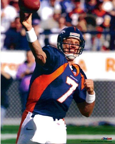John Elway Denver Broncos Unsigned Licensed Football Photo