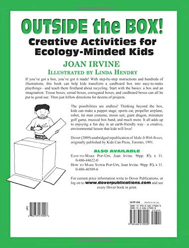 Outside The Box Creative Activities For Ecology Minded Kids Dover