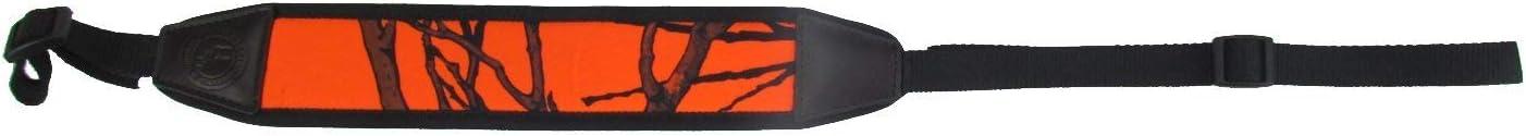 Correa de hombro ajustable para pistola, color naranja, de Tourbon
