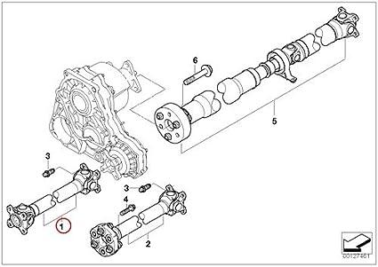 Amazon bmw genuine driveshaft drive shaft front e46 e83n 325xi bmw genuine driveshaft drive shaft front e46 e83n 325xi 330xi x3 30i x3 30si publicscrutiny Gallery