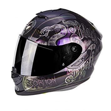 Scorpion Casco Moto exo-1400 Air blackspell Chameleon, multicolor, ...