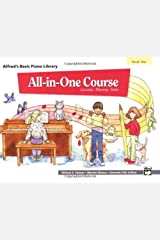 All-in-One Course for Children: Lesson, Theory, Solo, Book 1 (Alfred's Basic Piano Library) Kindle Edition