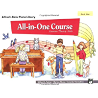 All-in-One Course for Children: Lesson, Theory, Solo, Book 1 (Alfred's Basic Piano Library) book cover