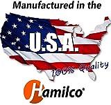 Hamilco Black Colored Cardstock Thick Paper - 8 1/2