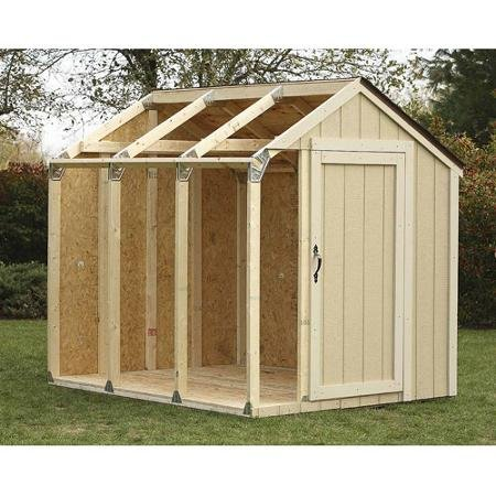 Hopkins Peak Roof Shed Kit by BLOSSOMZ