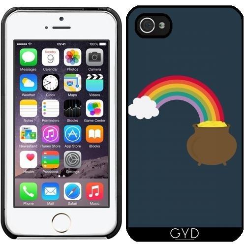 Coque pour Iphone 5/5S - Arc En Ciel D'or by ilovecotton