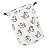 MagiDeal Cute Animal Cloth Laundry Storage Basket Bedroom Office Toy Clothes Sundries - Cow
