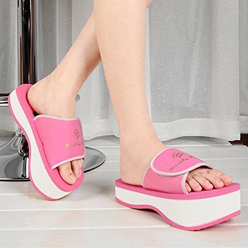 Shangxian De Pie La De 35 Lumbar Dedo De Mujeres Plataforma Del Tratamiento Del Redonda Las En Zapatos Columna Tacón rqpr6X