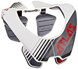 Atlas Brace Technologies AY1-00-000 Prodigy Incline Race Neck Brace (White, Small)