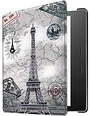Kindle Oasis Case, Guteck Slim Folio Case Fit for Kindle Oasis 10th Gen 2019 Release & 9th Gen 2017 Release with Auto Wake/Sleep Function (Tower)