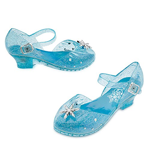 [Disney Elsa Light-Up Costume Shoes for Kids Size 11/12428430194616] (Costumes Shoes For Kids)
