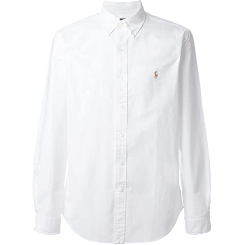 RALPH LAUREN Men Solid Sport Oxford Shirt
