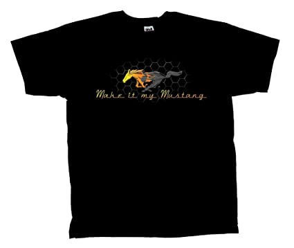 f0179ee6 Amazon.com: Mustang Racing My Mustang T-Shirt: Clothing