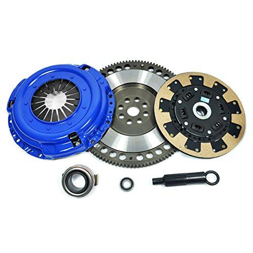 PPC KEVLAR CLUTCH KIT & RACE FLYWHEEL fits 90-96 NISSAN 300ZX N/T 3.0L VG30DE