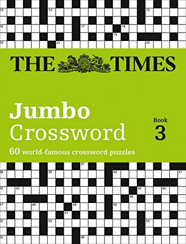 The Times 2 Jumbo Crossword Book 3 60 Large General Knowledge Crossword Puzzles Times Crossword 9780007264513 The Times Mind Games Books Amazon Com