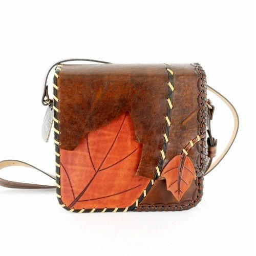 7ea5b1f0eb1d6 Image Unavailable. Image not available for. Color  Handmade Leather Bag  Women Men Crossbody Bag Accessory ...