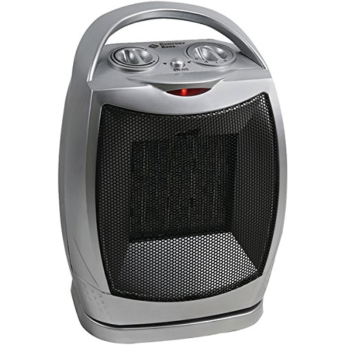 COMFORT ZONE CZ449 Oscillating Ceramic Heater Ceramic Heaters Comfort Zone