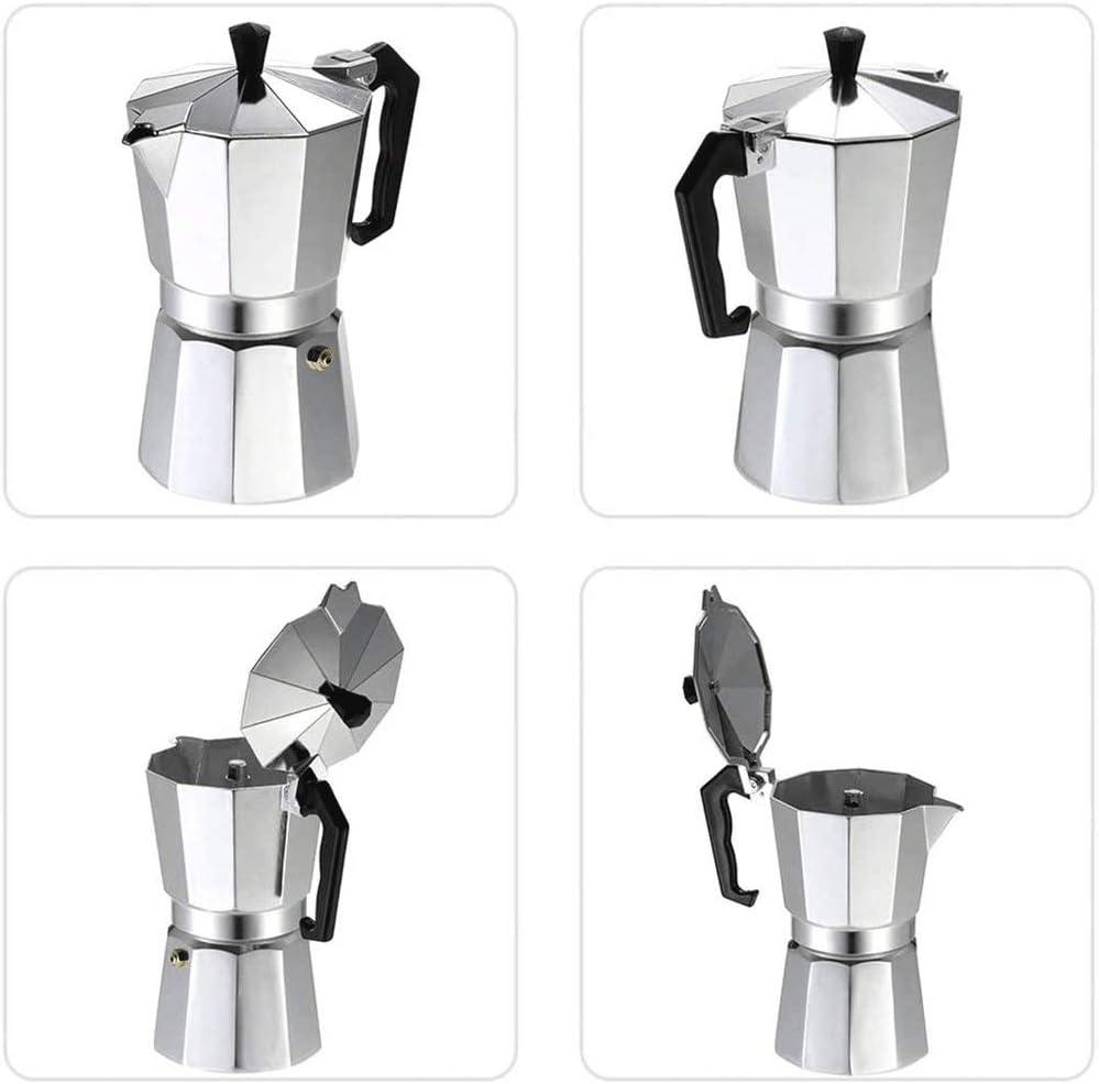 WCJ Espresso Cafetera Cubana Fabricante Superior de la Estufa ...