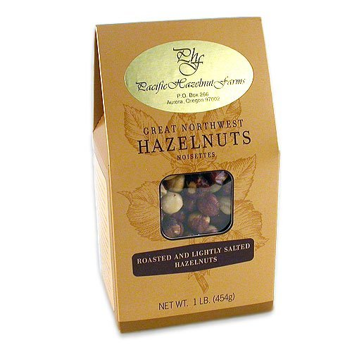 Great Northwest Roasted Salted Hazelnuts 1 lb.
