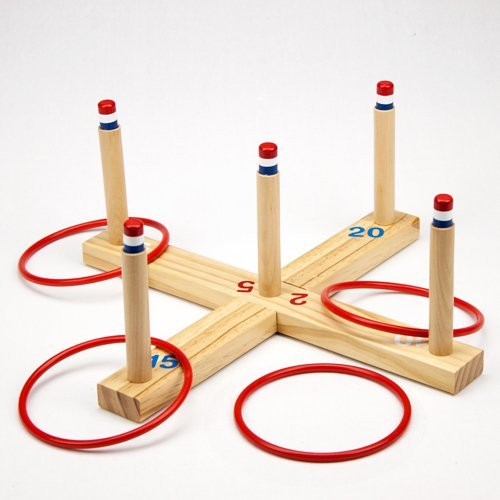 Ring Toss Complete Game Set by Poker Supplies